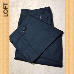 Loft Women's Capri Pants in color Black
